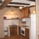 Cocina Casa Rural Rosa La Fresneda (Matarraña)