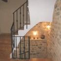 Acceso Escalera Casa Rural Rosa La Fresneda (Matarraña)